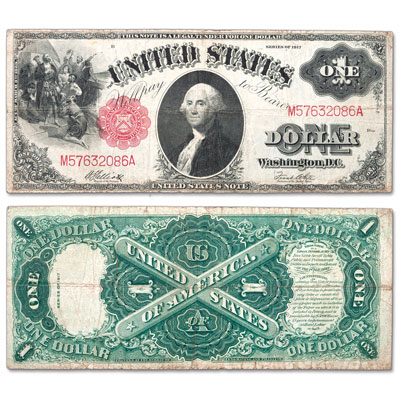 Image for Series 1917 $1 Legal Tender Note from Littleton Coin Company