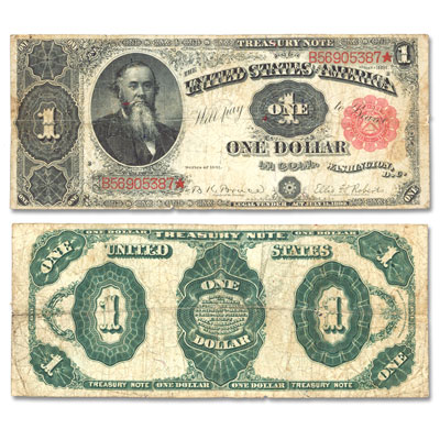 Image for Series 1891 $1 Treasury Note from Littleton Coin Company