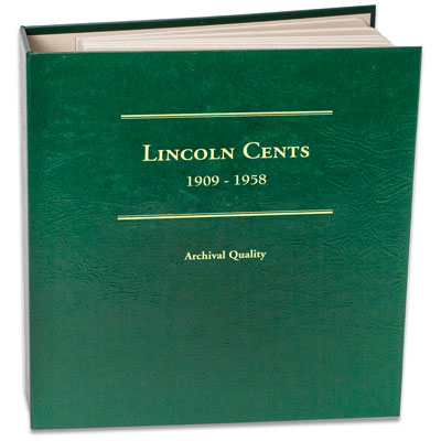 Image for 1909-1958 Lincoln Cent Album, Volume I from Littleton Coin Company
