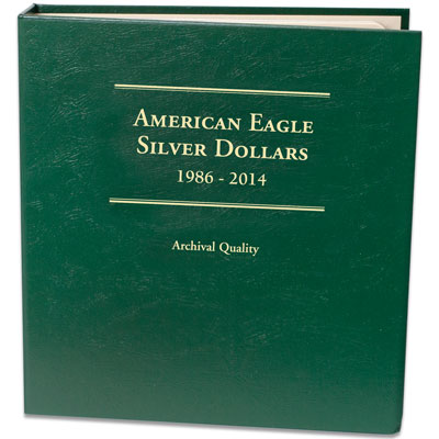 Image for 1986-2014 Silver American Eagle Album from Littleton Coin Company