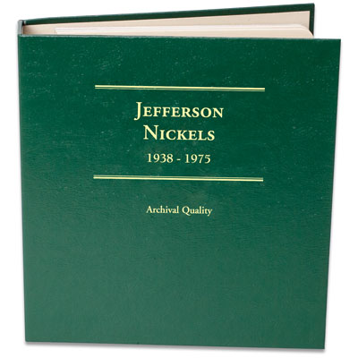 Image for 1938-1975 Jefferson Nickel Album, Volume 1 from Littleton Coin Company