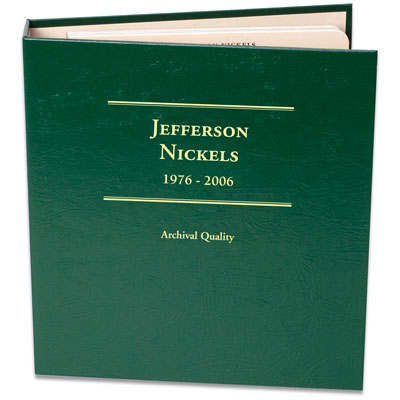 Image for 1976-2006 Jefferson Nickel Album, Volume 2 from Littleton Coin Company