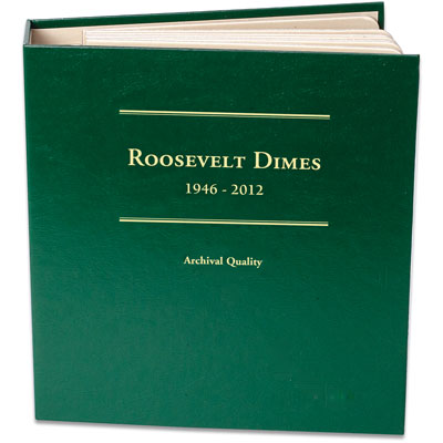 Image for 1946-2012 Roosevelt Dime Album from Littleton Coin Company