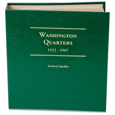 Image for 1932-1967 Washington Quarter Album from Littleton Coin Company