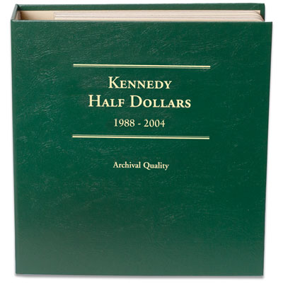 Image for 1988-2004 Kennedy Half Dollar Album, Volume 2 from Littleton Coin Company