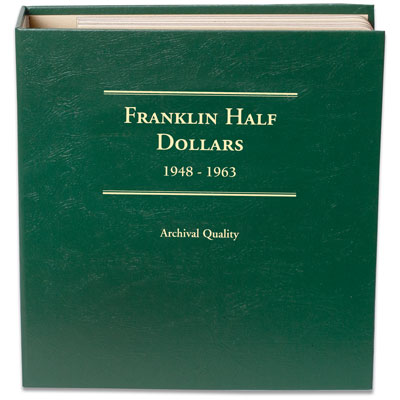 Image for 1948-1963 Franklin Half Dollar Album from Littleton Coin Company