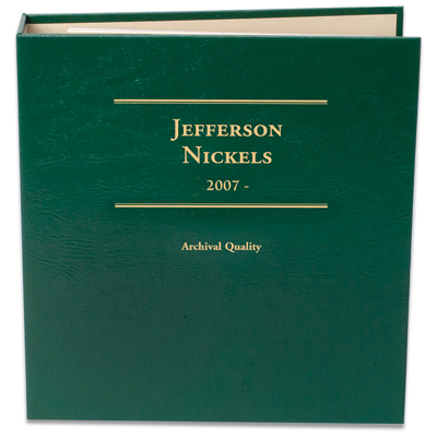 Image for 2007- Jefferson Nickel Album Volume 3 from Littleton Coin Company