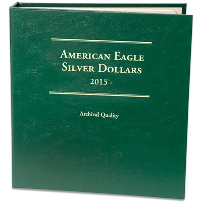 Image for 2015-Date Silver American Eagle Album from Littleton Coin Company