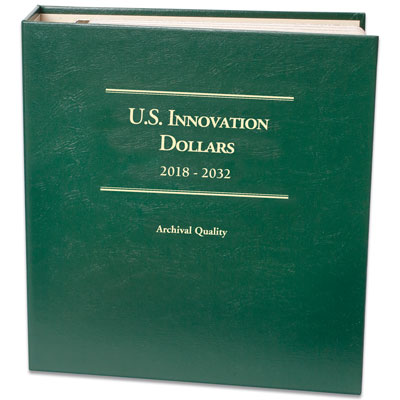 Image for 2018-2032 P&D U.S. Innovation Dollar Album from Littleton Coin Company