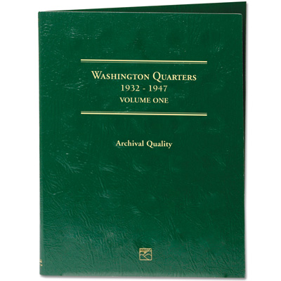Image for 1932-1947 Washington Quarters Folder from Littleton Coin Company