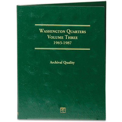 Image for 1965-1987 Washington Quarters Folder from Littleton Coin Company