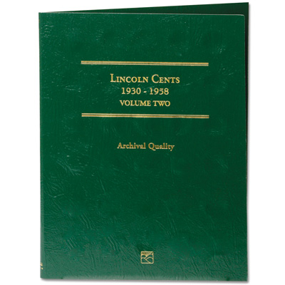 Image for 1930-1958 LCC Lincoln Cent Folder from Littleton Coin Company