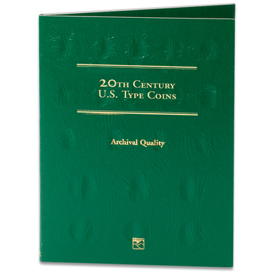 Image for 20th Century Type Coins Folder from Littleton Coin Company