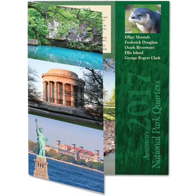Image for 2017 America's National Park Quarter Series Colorful Folder from Littleton Coin Company