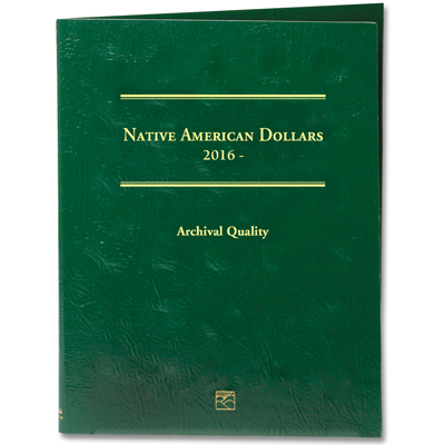 Image for 2016-Date Native American Dollar Folder from Littleton Coin Company
