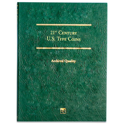 Image for 21st Century Type Coins Folder from Littleton Coin Company