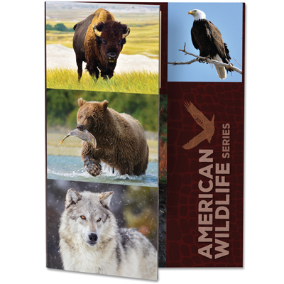 Image for American Wildlife Series Folder from Littleton Coin Company