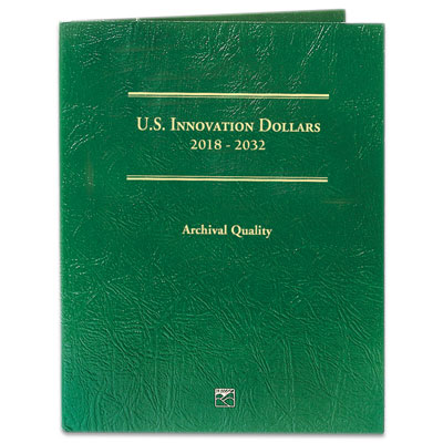 Image for 2018-2032 U.S. Innovation Dollars Folder from Littleton Coin Company