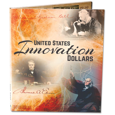 Image for 2018-2032 U.S. Innovation Dollars Colorful Folder from Littleton Coin Company