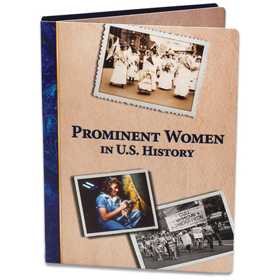 Image for Prominent Women in U.S. History Folder from Littleton Coin Company