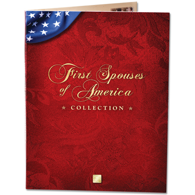 Image for First Spouses of America Collection Folder from Littleton Coin Company