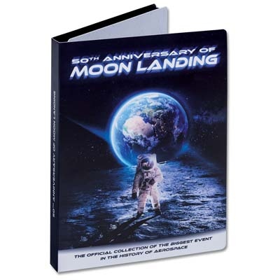 Image for 50th Anniversary Moon Landing Series Folder from Littleton Coin Company