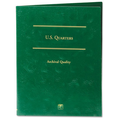Image for Blank Quarters Folder from Littleton Coin Company