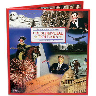 Image for 2007-2016 Presidential Dollar Deluxe Presentation Folder from Littleton Coin Company