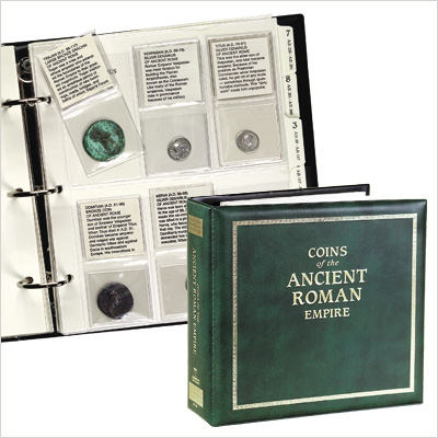 Image for Ancient Roman Coin Album from Littleton Coin Company