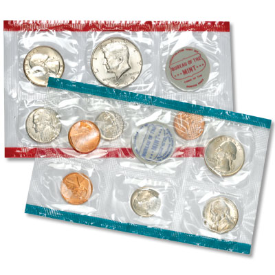Image for 1969 U.S. Mint Set (10 coins), Uncirculated from Littleton Coin Company