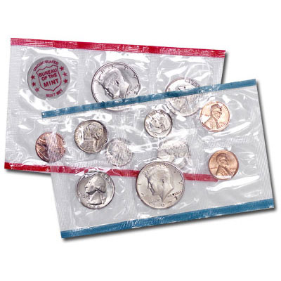 Image for 1972 U.S. Mint Set (11 coins), Uncirculated from Littleton Coin Company
