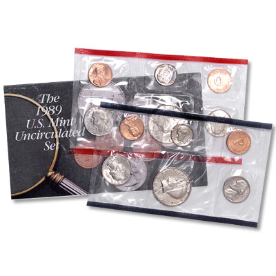 Image for 1989 U.S. Mint Set (10 coins), Uncirculated from Littleton Coin Company