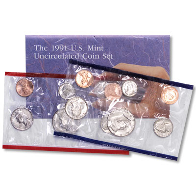 Image for 1991 U.S. Mint Set (10 coins), Uncirculated from Littleton Coin Company