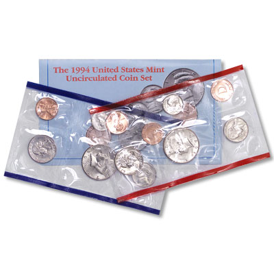 Image for 1994 U.S. Mint Set (10 coins), Uncirculated from Littleton Coin Company