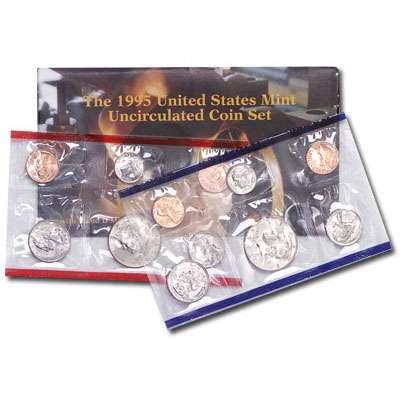 Image for 1995 U.S. Mint Set (10 coins), Uncirculated from Littleton Coin Company