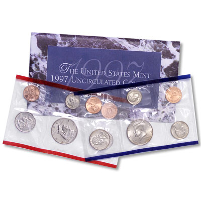 Image for 1997 U.S. Mint Set (10 coins), Uncirculated from Littleton Coin Company