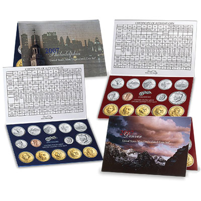 Image for 2007 U.S. Mint Set (28 coins), Uncirculated from Littleton Coin Company