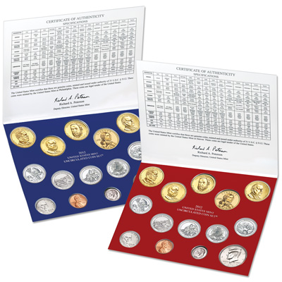 Image for 2012 U.S. Mint Set (28 coins) from Littleton Coin Company