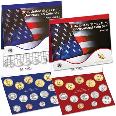 Image for 2013 U.S. Mint Set (28 coins) from Littleton Coin Company