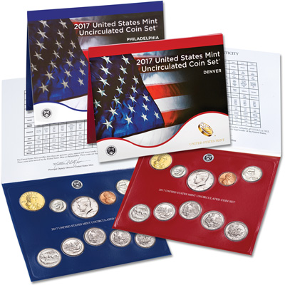 Image for 2017 U.S. Mint Set from Littleton Coin Company