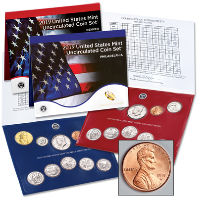 Image for 2019 U.S. Mint Set from Littleton Coin Company