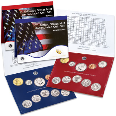 Image for 2020 U.S. Mint Set from Littleton Coin Company