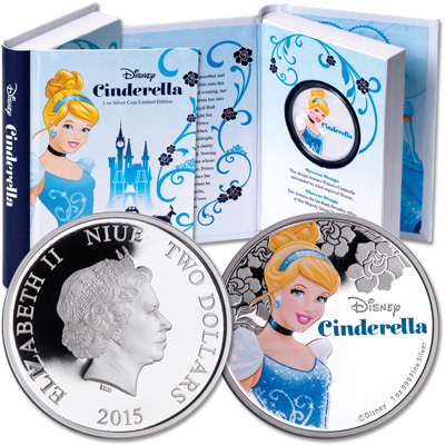 Image for 2015 Niue Silver $2 Cinderella from Littleton Coin Company