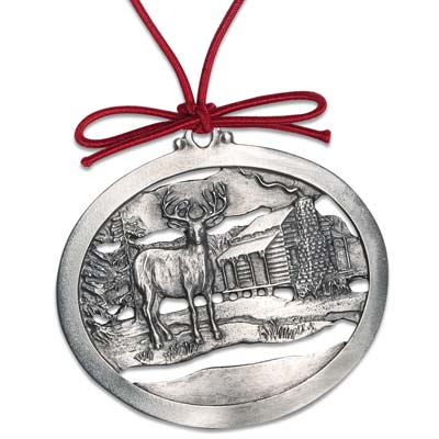 Image for Winter Peace Pewter Ornament from Littleton Coin Company