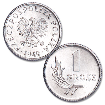 Image for 1949 Poland 1 Grosz from Littleton Coin Company