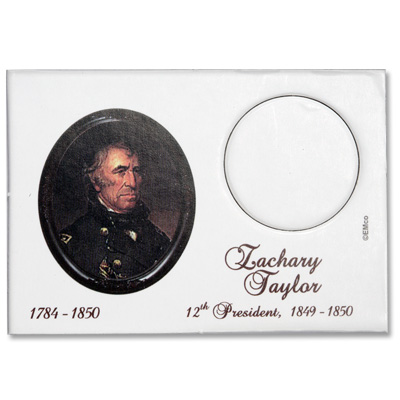 Image for Snaplock 1 Coin Holder - 2009 Zachary Taylor Presidential Dollar from Littleton Coin Company
