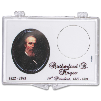 Image for Snaplock 1 Coin Holder - 2011 Rutherford B. Hayes Presidential Dollar from Littleton Coin Company