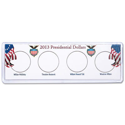 Image for Snaplock Coin Holder - 2013 Presidential Dollars from Littleton Coin Company