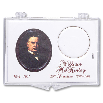 Image for Snaplock Coin Holder - 2013 William McKinley Presidential Dollar from Littleton Coin Company