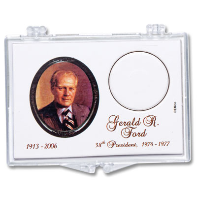 Image for Snaplock Coin Holder - 2016 Gerald R. Ford Presidential Dollar from Littleton Coin Company
